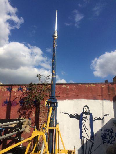 project clark trailer mast